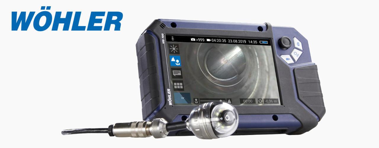 A Wöhler VIS 700 oferece exatamente o que os profissionais estavam á espera, imagens HD, uma função para focar com precisão e controle prático da cabeça da câmara por meio de um joystick